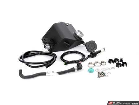 ES#3647095 - 021942tms13 - N54 Aluminum Coolant Expansion Tank Relocation Kit - 335i - Ditch the weak, factory plastic coolant expansion tank and free up space on the hot side of your engine bay! - Turner Motorsport - BMW