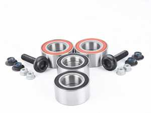 ES#3659363 - 4B0498625AKT5 - Complete Wheel Bearing Kit - All-inclusive kit includes bearings, axle bolts, and securing bolts for all four corners of the vehicle - FAG - Audi