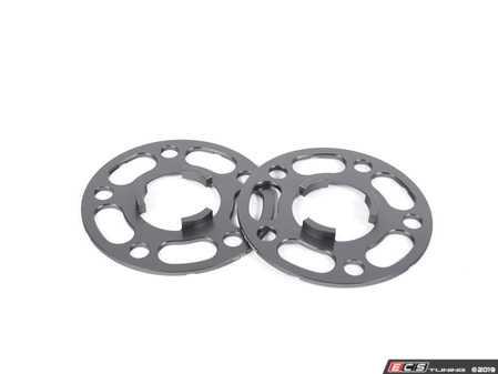 ES#3552538 - LS-105MM - 5mm Rennline Wheel Spacers - Pair - Add clearance or perfect your wheel fitment - Rennline - Porsche