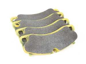 ES#3546088 - 492429 - RSL29 Yellow Endurance Racing Brake Pads - Front - Popular street and endurance racing pad. Same friction material used in several European racing series. - Pagid Racing - Porsche