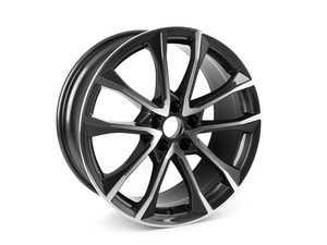 """ES#3181018 - 8W0601025BF - 19"""" Alloy Wheel  - 19""""x8.5"""" ET 40 5x112 - Genuine Volkswagen Audi - Audi Volkswagen MINI"""