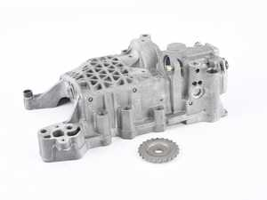 ES#3647483 - 462-001-0003KT - FSI Oil Pump With Balance Shaft Delete - Eliminate the risk of seized balance shafts with this balance shaft deleted oil pump assembly - Price includes a $390 refundable core charge - iABED Industries - Audi Volkswagen