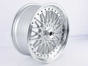 """ES#3675442 - 010-26sd12 - 18"""" Style 010 - Single Wheel - *Scratch And Dent* - *Please see description prior to ordering* 18x8, ET28, 5x112/5x120, 74.1CB - Hyper Silver - Alzor - Audi"""
