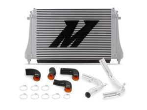 ES#3675556 - MMINT-MK7-15KP - Mishimoto Performance Intercooler Kit - Polished Pipes - Increase horsepower and torque with reduced intake temps! - Mishimoto - Audi Volkswagen