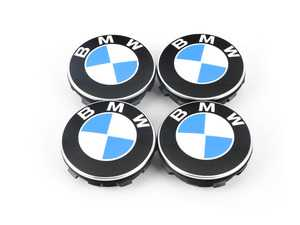 ES#3663586 - 36122455269 - Floating center cap - set - Set of 4 floating center caps, center caps stay still while the wheels move! - Genuine BMW - BMW