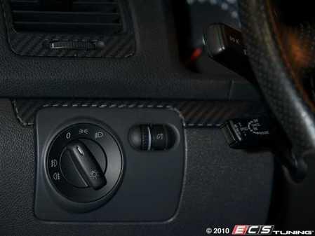 ES#9974 - 1K0941431CKOS - Standard European Headlight Switch - Black - Controls headlights, parking lights, front fog lights, and rear fog lights - Bremmen Parts - Volkswagen