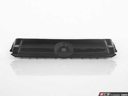 ES#3437186 - 024715ECS01 - Audi B9 A4/S4 Carbon Fiber Radiator Support Cover  - Carbon fiber, front and center! - ECS - Audi