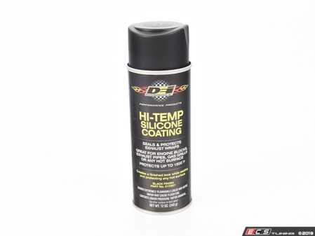 ES#3619060 - 010301KT - Hi-Temp Silicone Coating - Black - The High Temperature (HT) Silicone Coating provides lasting protection for any hot surface up to 1500 degrees. Ground ship only. - DEI - Audi BMW Volkswagen Mercedes Benz MINI Porsche