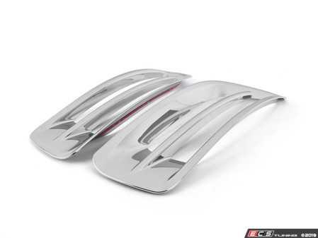ES#3663869 - 3593CHEN13796 - Chrome Front Bumper Grille Trim - Pair - Chrome surrounds for your left and right bumper grilles - ECS - Volkswagen