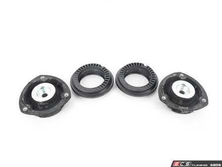 ES#3551432 - 5Q0412331DKT5 - Front Upper Strut Mount & Bearing Kit - Includes pair of OE front upper strut mounts and strut mount bearings - Assembled By ECS - Volkswagen