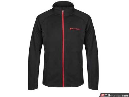 ES#3628214 - ACM2044BLK2X - Spyder Constant Full-Zip - Mens 2XL - The Constant Full Zip Jacket has a clean aesthetic and fit for active men. - Genuine Volkswagen Audi - Audi