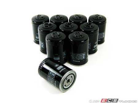 ES#3954 - W940.25 10PACK - Oil Filter - Pack Of 10 - Stock up for future maintenance! (Larger capacity oil filter) - Mann - Audi Volkswagen