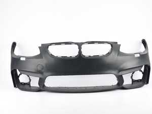ES#3677187 - E92M4FT-LCIsd12 - *M3/M4 LCI Style Front Bumper With Fog Lights - *Scratch And Dent* - Add the upgraded LCI M3/M4 aggressive look to your BMW! Primed and ready to paint. - ECS - BMW