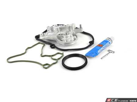 ES#3450851 - D154103A1 - Valve Cover Gasket Kit - Everything you need to perform a quality valve cover gasket repair on your TSI - Assembled By ECS - Volkswagen
