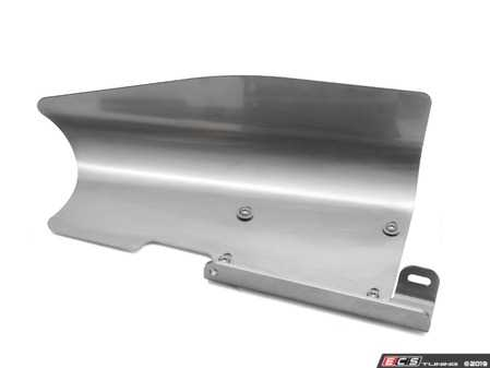 ES#3677501 - 034-108-Z055 - Intake Inlet Pipe Heat Shield  - Reduces intake air temperature by shielding the inlet pipe from direct radiant heat from the turbo and downpipe. - 034Motorsport - Audi