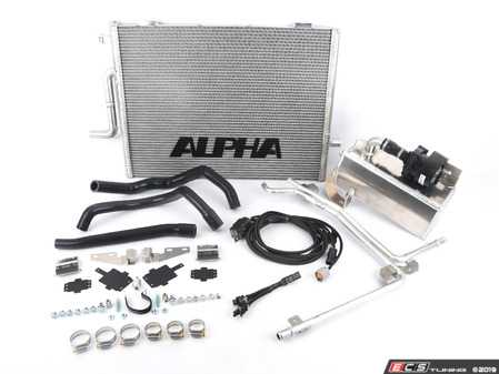 ES#3604489 - ALP.14.02.0101-2 - Alpha Performance Audi B8.5 S4/S5 Supercharger Cooler System - The Alpha Performance Audi B8.5 Supercharger Cooler System is a great addition to your S4 / S5 whether your car is stock or modified - Alpha Performance - Audi