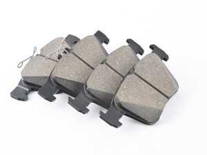 ES#3672042 - 8v0698151cktKT1 - Front & Rear Brake Pad Set - Replacement genuine brake pads to restore your stopping power. - Genuine Volkswagen Audi - Audi