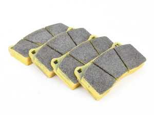 ES#3647422 - 1287RSL29 - RSL29 Yellow Endurance Racing Brake Pads - Rear - Popular street and endurance racing pad. Same friction material used in several European racing series. - Pagid Racing - BMW