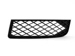 ES#437942 - 8E0807681JZ9Y - DTM Front Bumper Grille - Phantom Black Perlescent - Left - Clean up your exterior - Genuine Volkswagen Audi - Audi