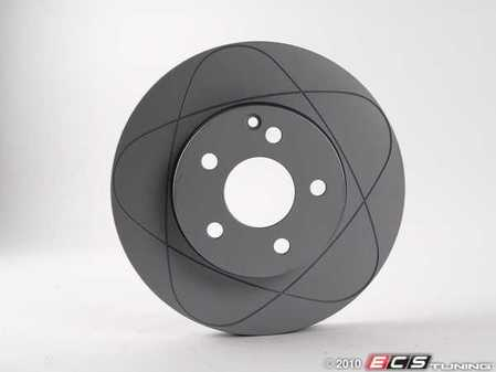 ES#2696260 - 2114210812 - Front Brake Rotor - Priced Each - Fits Left Or Right Side - ATE Premium One -