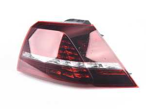 ES#3677595 - 5G0945208Csd - Outer LED Tinted Tail Light - Right (Dark Cherry) - *Scratch And Dent* - *Please see description prior to ordering* - Genuine European Volkswagen Audi - Volkswagen