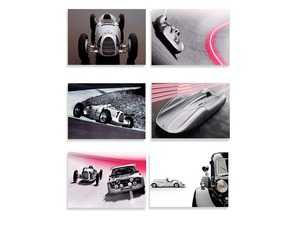 ES#3554885 - ACML856 - Audi Heritage Postcards - Set of 6 - This postcard set is the perfect way to send a quick note to the Audi enthusiast in your life. - Genuine Volkswagen Audi - Audi