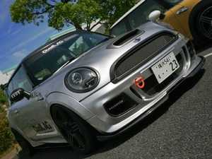 ES#3677730 - R56FB1.21FRP - Duell AG R56 Front Bumper Krone Edition V1.21 Style - FRP - Straight from Japan aggressive front bumper cover that has an import tuner design - Duell Ag - MINI