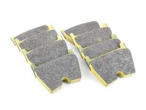 ES#3545950 - 293129 - RSL29 Yellow Endurance Racing Brake Pads - Front - Popular street and endurance racing pad. Same friction material used in several European racing series. - Pagid Racing - Audi