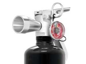 ES#3624748 - FE10HG250B - 2.5lb HalGuard Clean Agent - Black - Black HalGuard Clean Agent fire extinguisher - Rennline - Audi BMW Volkswagen Mercedes Benz MINI Porsche