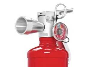ES#3624731 - FE10HG250R - 2.5lb HalGuard Clean Agent - Red - Red HalGuard Clean Agent fire extinguisher - Rennline - Audi BMW Volkswagen Mercedes Benz MINI Porsche