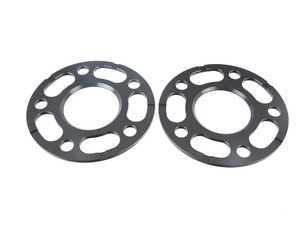 ES#3552539 - LS-105MMFLAT - 5mm Rennline Flat Wheel Spacers - Pair - Add clearance or perfect your wheel fitment - Rennline - Porsche