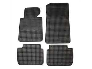ES#3672495 - 16310 - All-Weather Floor Mats - Set of 4  - Black, Rubber floor mat set - Bavarian Autosport - BMW