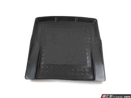 ES#3673793 - AS16710 - Non-Slip Trunk Liner - Black rubber trunk mats - Bavarian Autosport - BMW