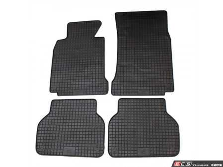 ES#3672494 - 16210 - All-Weather Floor Mat Set - Set of 4  - Black - Bavarian Autosport - BMW