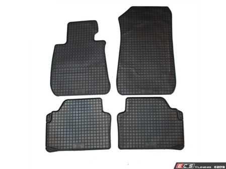 ES#3672501 - 16710 - All-Weather Floor Mat Set - Set of 4 - Black - Bavarian Autosport - BMW