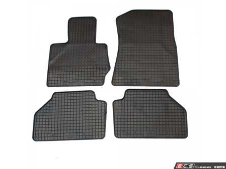 ES#3672482 - 15810 - All-Weather Floor Mat Set - Set of 4 - Black - Bavarian Autosport - BMW