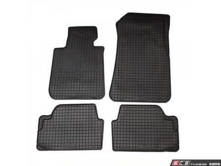ES#3672500 - 16610 - All-Weather Floor Mat Set - Set of 4  - Black - Bavarian Autosport - BMW
