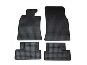 ES#3672503 - 16810 - All-Weather Floor Mat Set - Set of 4 R55/R56/R57/R58/R59 - Complete set of front and rear floor mats, black. - Bavarian Autosport - MINI