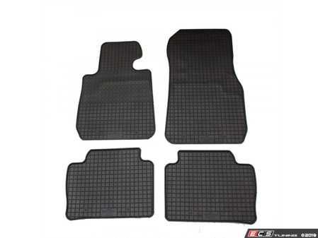 ES#3672481 - 15710 - All-Weather Floor Mat Set - Set of 4 - Black - Bavarian Autosport - BMW