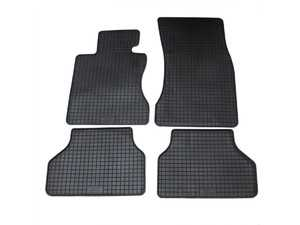 ES#3672499 - 16510 - All-Weather Floor Mat Set - Complete set of front and rear floor mats, Black. - Bavarian Autosport - BMW