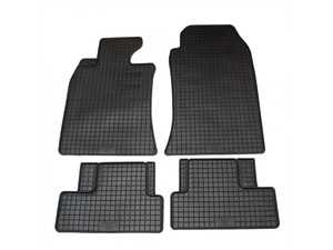 ES#3672497 - 16410 - All-Weather Floor Mat Set - Set of 4 R50/R52/R53 - Complete set of front and rear floor mats, black. - Bavarian Autosport - MINI