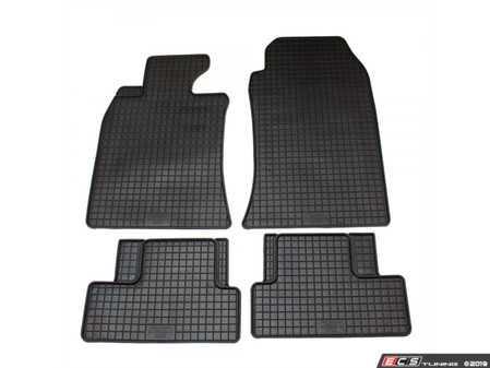 ES#3672497 - 16410 - All-Weather Floor Mat Set - Set of 4 R50/R52/R53 - Complete set of front and rear floor mats, black. - Bavarian Autosport - MINI
