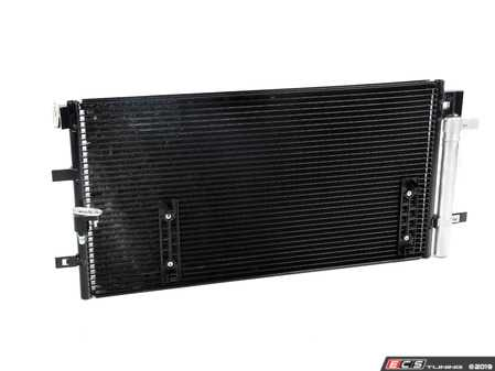 ES#3545316 - 10684 - A/C Condenser - Transfers heat from the refrigerant - Includes the receiver/drier - CSF - Audi