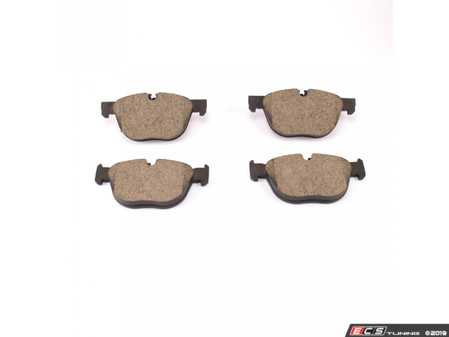 ES#3674678 - 34116852253 - Front Brake Pads set - Quality replacement brake pads from an original equipment supplier - Brembo - BMW