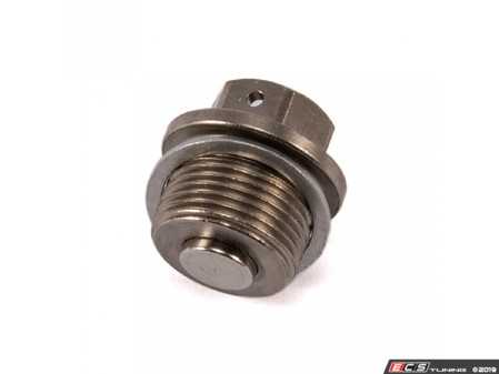 ES#3674941 - SSM22X1.5 - Dimple Magnetic Differential Drain Plug - Monitor the condition of your differential at each service and remove harmful metallic contaminants from imposing premature wear. - Dimple - BMW MINI