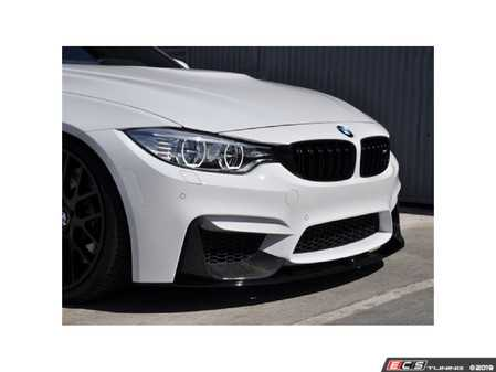 ES#3677128 - ATK-BM-0017 - Carbon Fiber Performance Style Front Splitters - Precisely designed and manufactured for a cohesively aggressive appearance - AUTOTECKNIC - BMW
