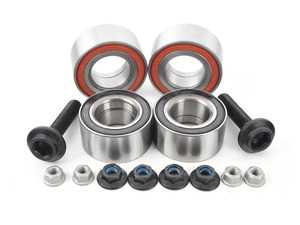 ES#3659725 - 4b0498625AKT7 - Complete Wheel Bearing Kit - All-inclusive kit includes bearings, axle bolts, and securing hardware for all four corners of the vehicle - FAG - Audi
