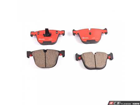 ES#3674668 - 34216768471 - Rear Brake Pads set - Quality replacement brake pads from an original equipment supplier - Brembo - BMW