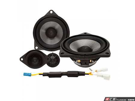 ES#3677011 - T3BMW3 - 2-Way Component Upgrade - Direct fit replacement drivers for factory HiFi audio. - Rockford Fosgate - BMW