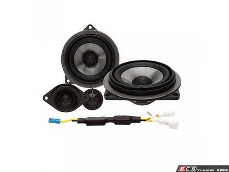 ES#3677010 - T3BMW2 - 2-Way Component Upgrade - Direct fit replacement drivers for factory HiFi audio. - Rockford Fosgate - BMW